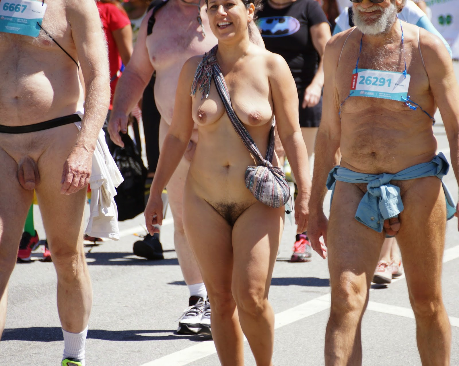 To running naked bay breakers women