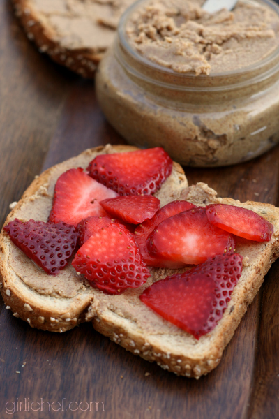 Maple Almond Butter by @girlichef
