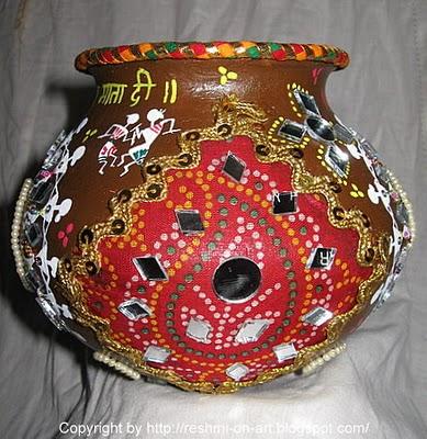 Navratri Garba Decoration