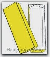 Bước 11: Hoàn thành cách xếp hình hộp chữ nhật bằng giấy theo phong cách origami.