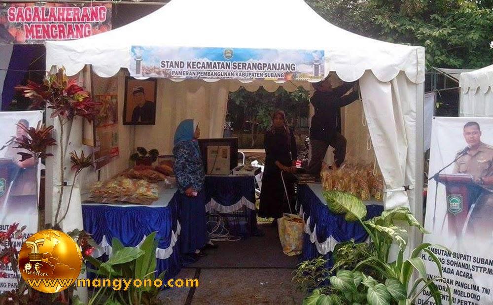 Stand Kec. Serangpanjang, Pameran Pembangunan 2015.