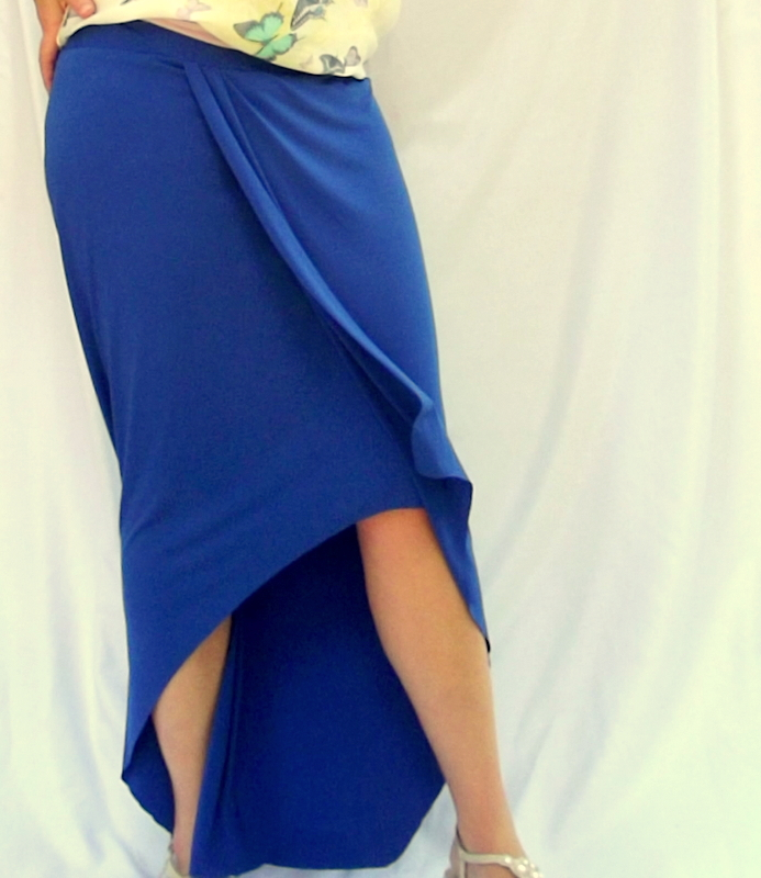 morning by morning productions high low maxi skirt tutorial