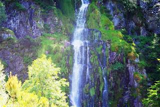Caso, cascada del Mongayu