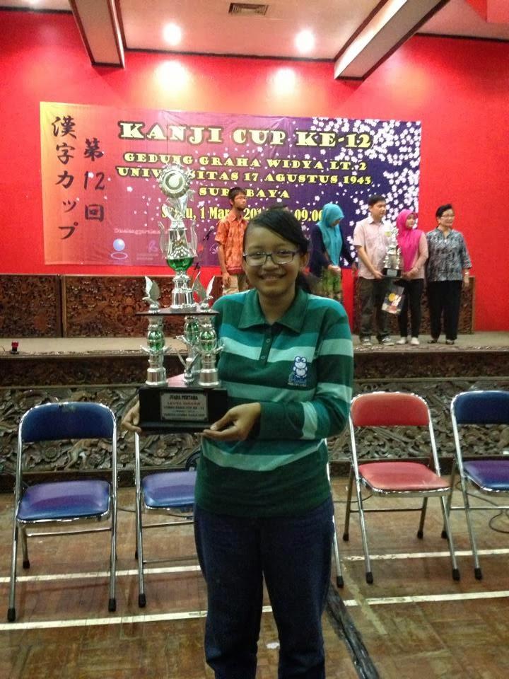 """Kontingen UNNES Meraih juara 1 Shokyu """"Kanji Cup ke-12"""""""