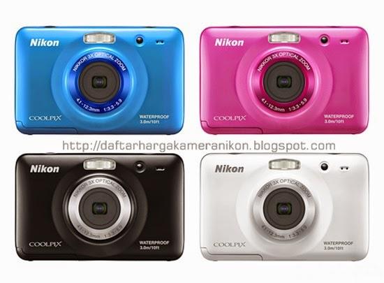 Harga dan Spesifikasi Kamera Nikon Coolpix S30 Terbaru