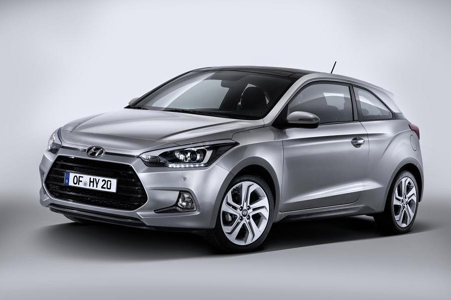 Hyundai i20 Coupe (2015) Front Side