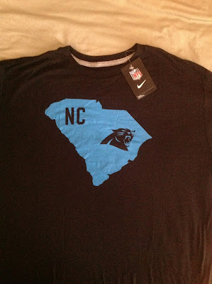 Nike apologizes for Panther T-shirt flub