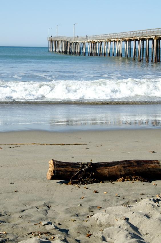 Cayucos, CA Beach