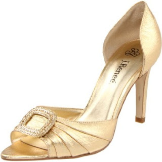 I Heart Wedding Dress Gold Wedding Shoes