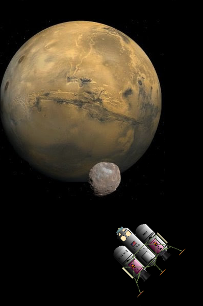 NEW PAPYRUS: First Human Voyages to the Martian Moons Using SLS ...