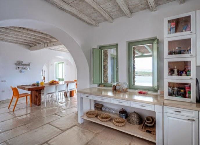 Estilo rustico casa rustica griega for Decoracion casa griega