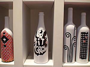 Sorteio garrafas decorativas reciclada 25/02 !!!             Clique e participe !!!