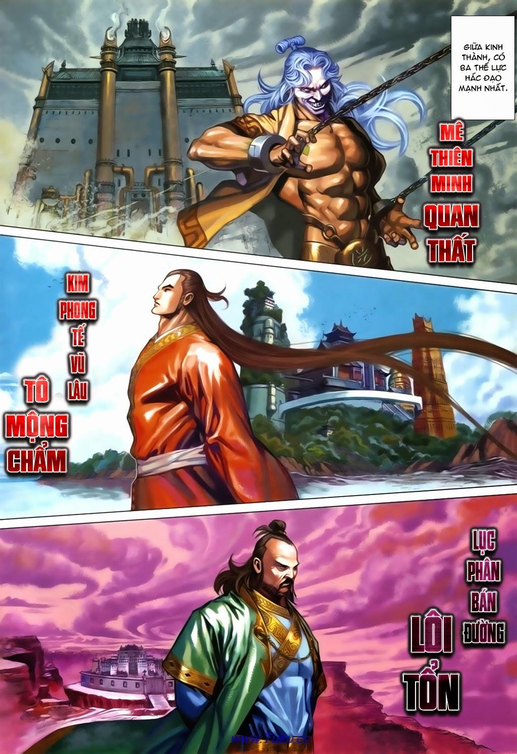 Thuyết Anh Hùng Thùy Thị Anh Hùng chap 16 Trang 3 - Mangak.info