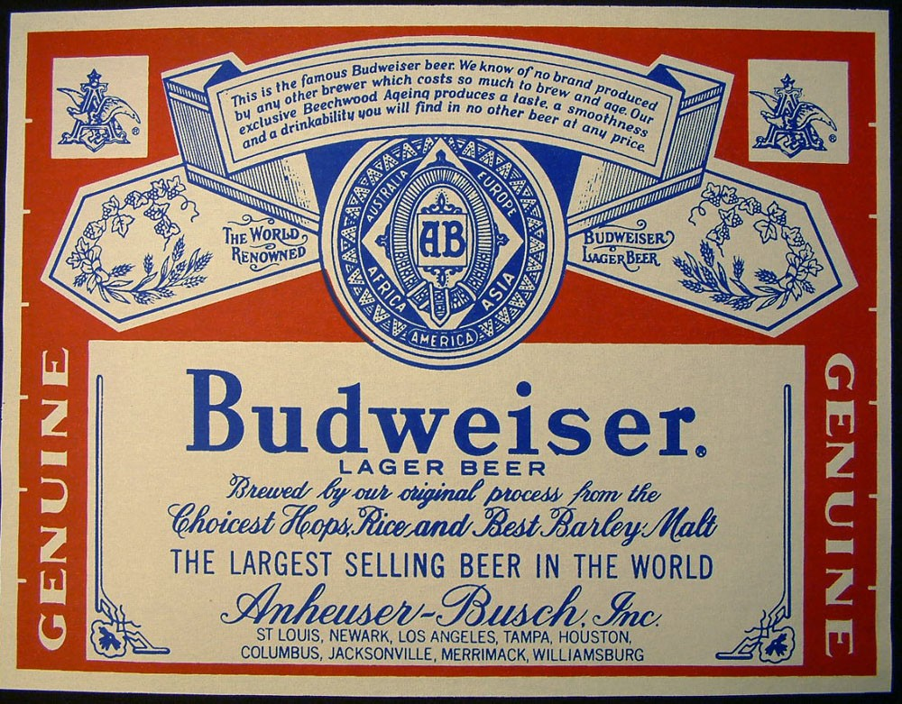 Pictures Blog: Budweiser Can Label Jessica Alba