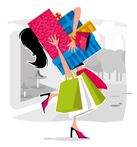 Join an online shopping community.