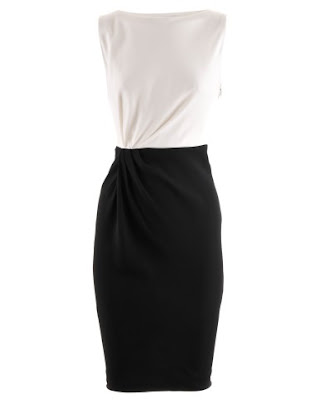 Black I White Shiftdress Amanda