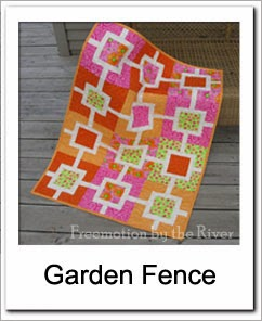 Free Garden Fence Tutorial at Freemotion by the River