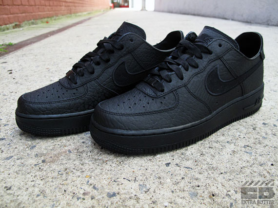 super popular 1cf30 ef15f Nike Air Force 1 Low PRM Deconstruct - Triple Black