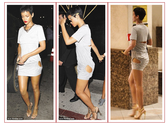 Rihannas Peek Bum Grey Dress Hot Or Not on Meet Sultry Simone The Winner Of Best Behind In