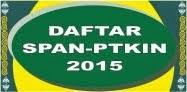 DAFTAR SPAN-PTKIN 2015