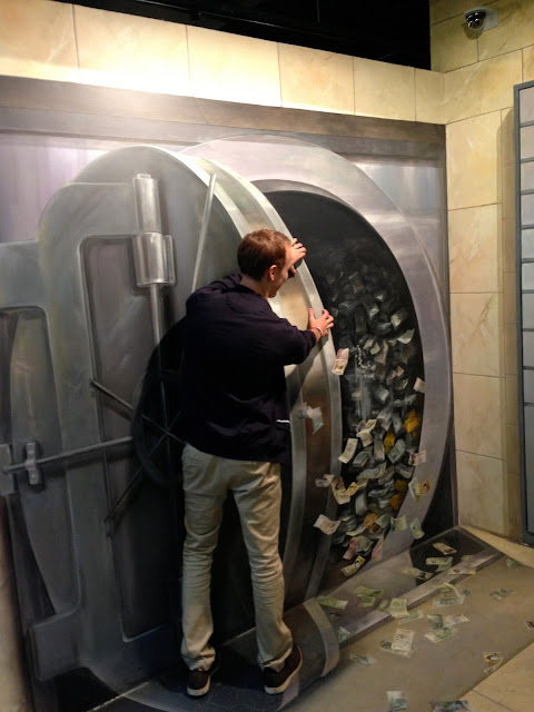 Opening the vault