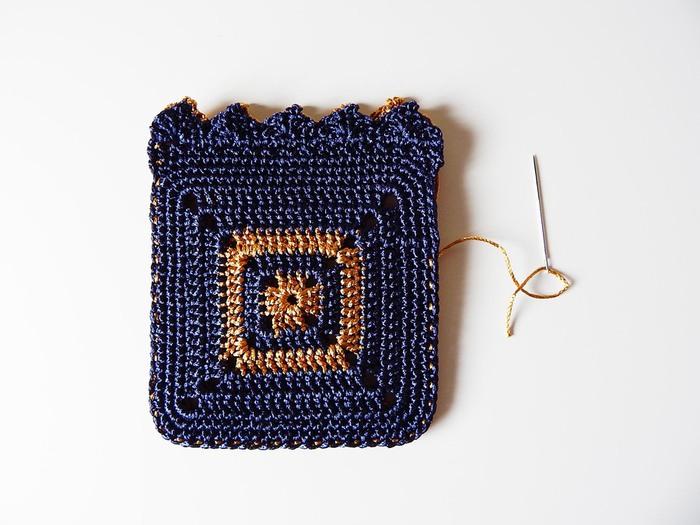 Crochet Bag Patterns Diagram : ergahandmade: Crochet bag + Diagram