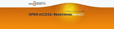 """Semana Internacional del Acceso Abierto, del 21 al 27 de octubre: """"redefining impact"""""""