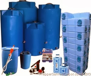 When it comes to long-term water storage there are many containers and methods that people use. As long as the water is stored and rotated properly ... & The Trailer Park Homesteader: Water Storage u0026 Purification