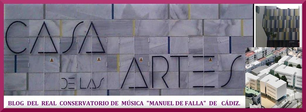 Blog del Conservatorio  Profesional de Música  de Cádiz