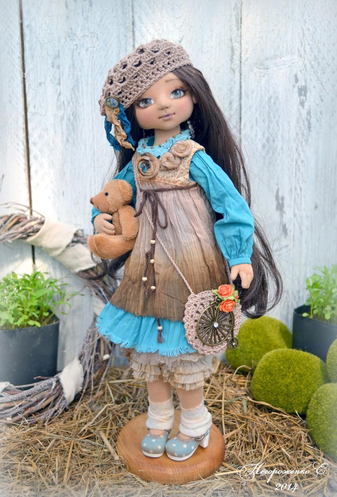 Куклы елены негороженко выкройка фото 250