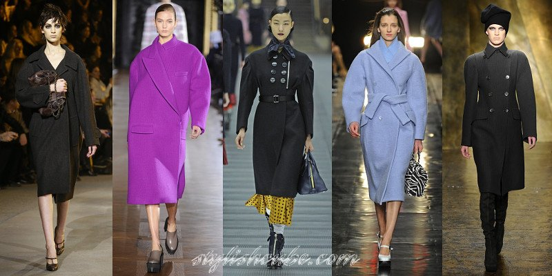 Fall Winter 2013 Fashion Coats Trends For Women