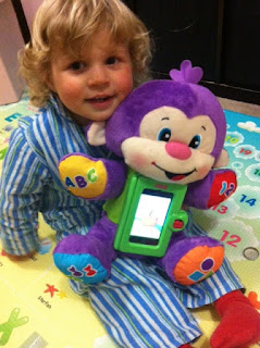 Fisher Price Apptivity Monkey, Toddler Toys, Oh Gorgeous Baby, iPhone Apps for Toddlers,