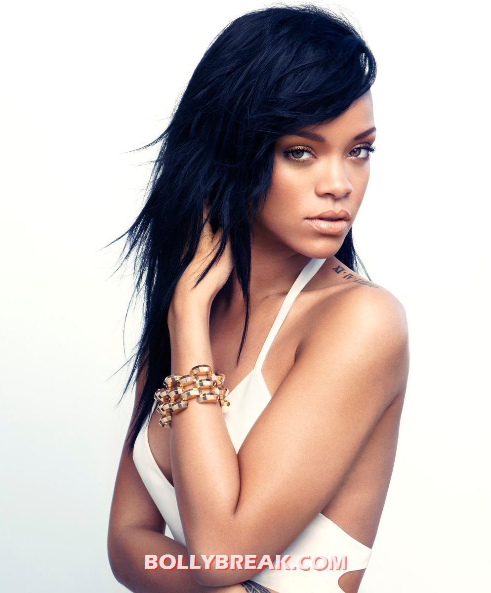 , Rihanna Harper's Bazaar Magazine Scans - August 2012