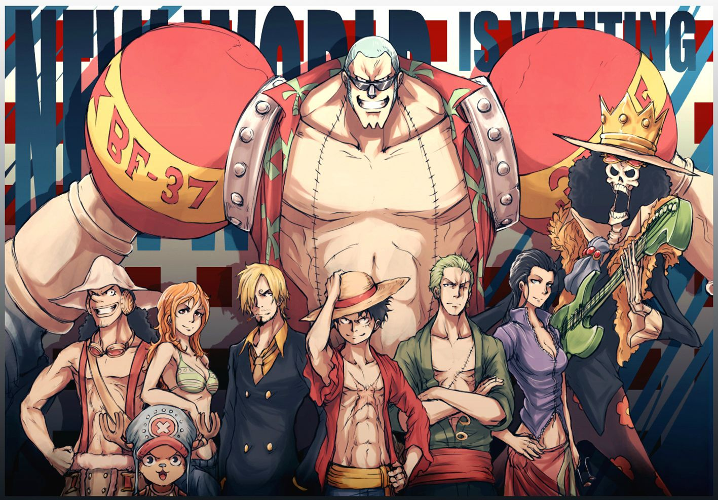 Free Download HD Wallpaper for Desktop: One Piece New ...