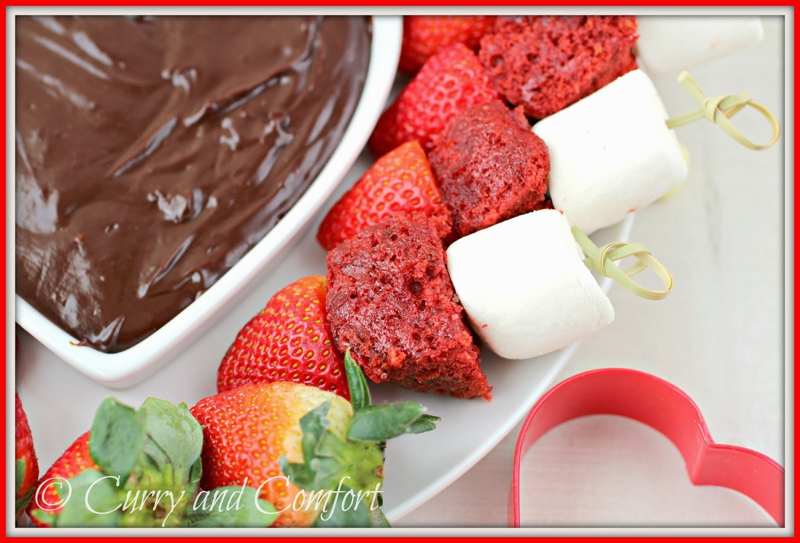 Kitchen Simmer: Valentine's Chocolate Fondue