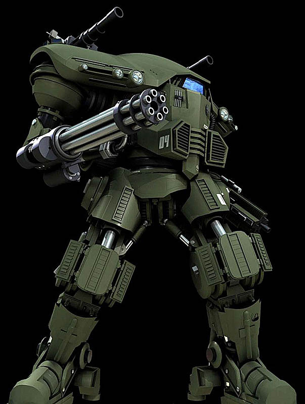Future War Stories: FWS Topics: Powered Armor