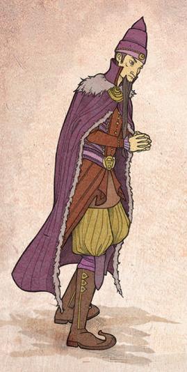 Tycho Nestoris, emisario del banco del hierro de Braavos - Juego de Tronos en los siete reinos