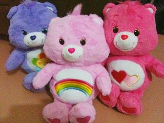 Boneka beruang love 12