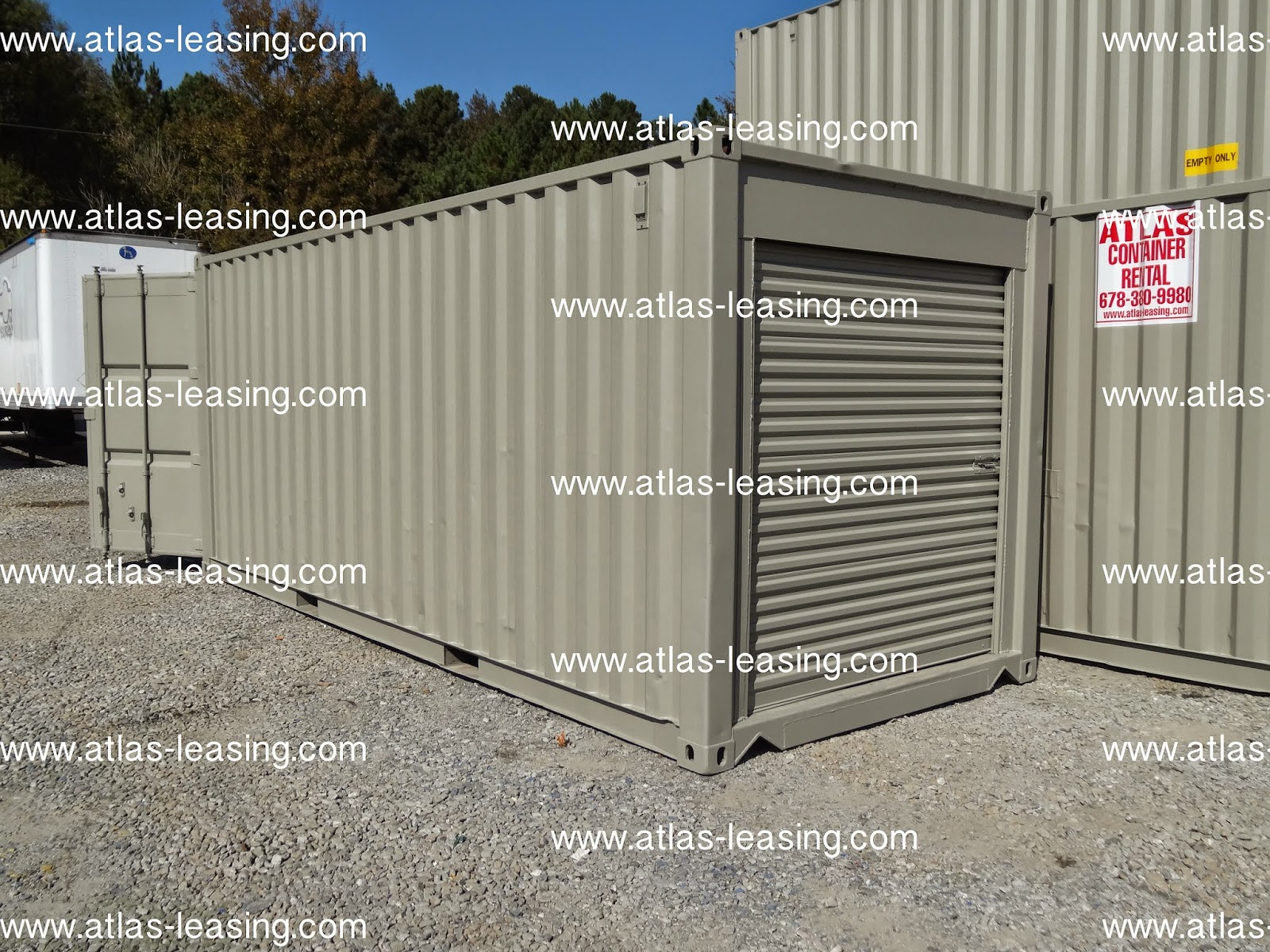 Where To Buy A Shipping Container Atlanta Used Shipping Containers And Semi Trailers 2015