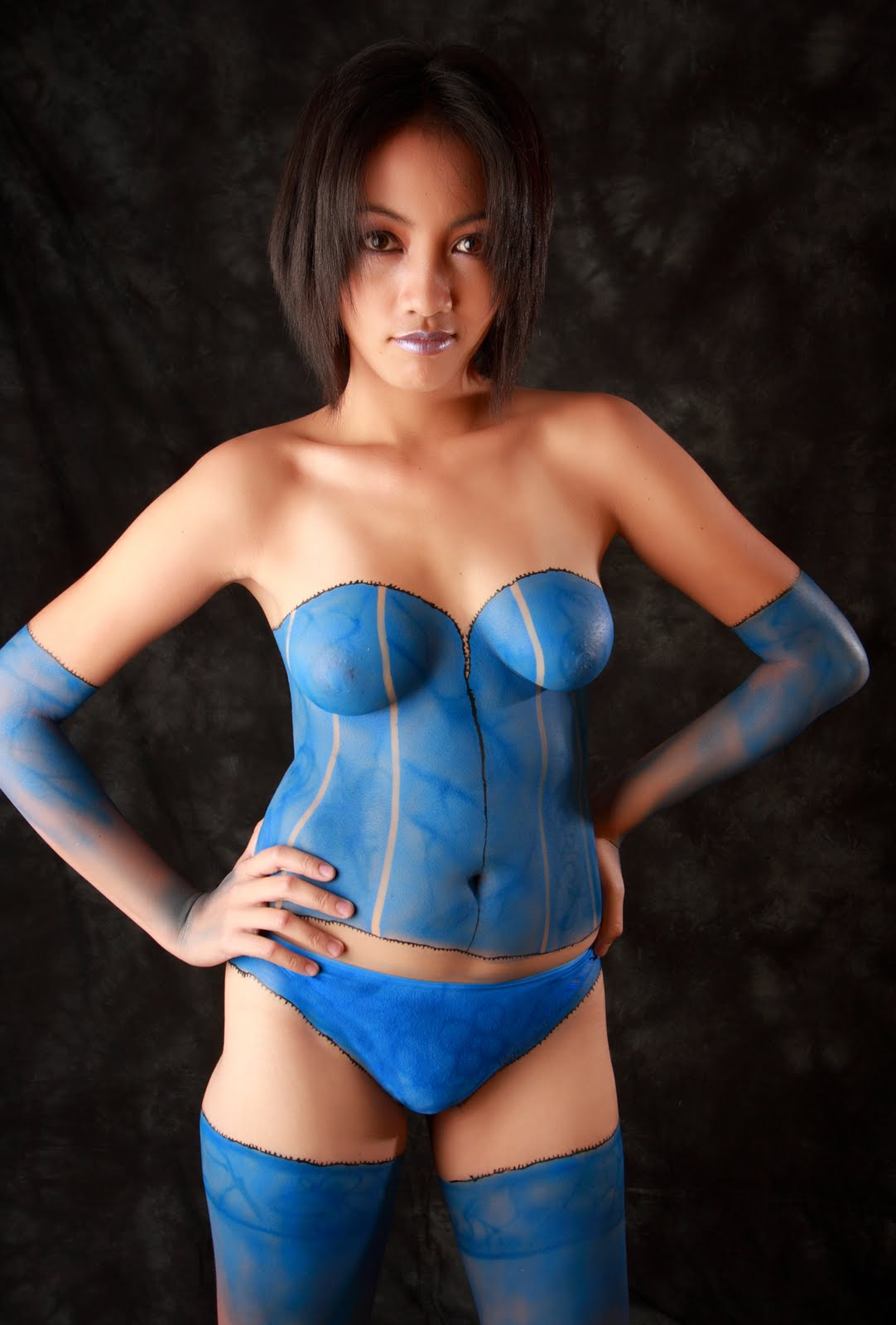 Female Body Painting Zero Body Painting Colour