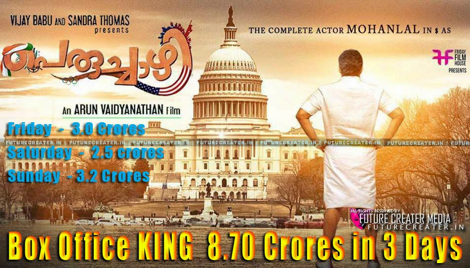 PERUCHAZHI MOVIE BOX OFFICE COLLECTION REPORT - Total Theater Collection