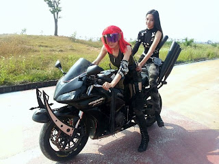 T-ara Day by Day Cool Motorcycle Pictures / Images