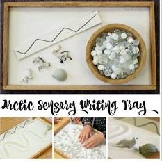 http://fun-a-day.com/arctic-animal-sensory-writing-tray/
