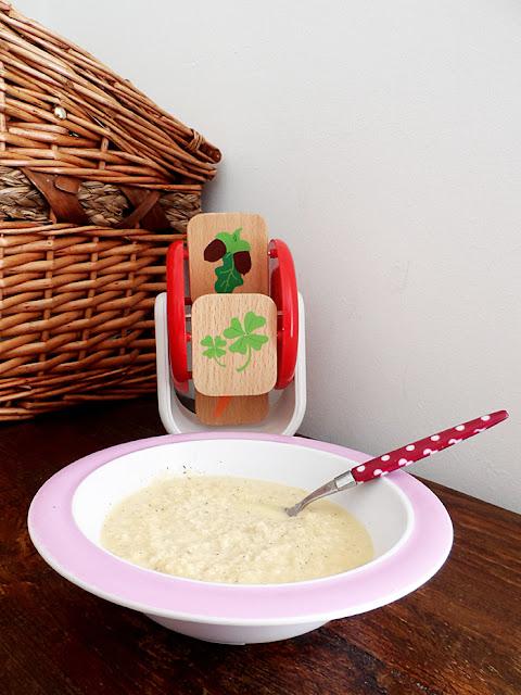 zuppa fredda di tacchino e mela