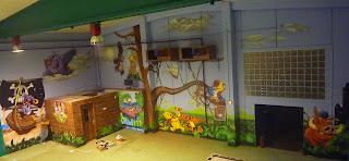 Murales infantiles para chiquipark