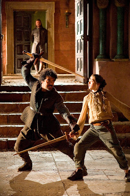 Game of Thrones sword fighting