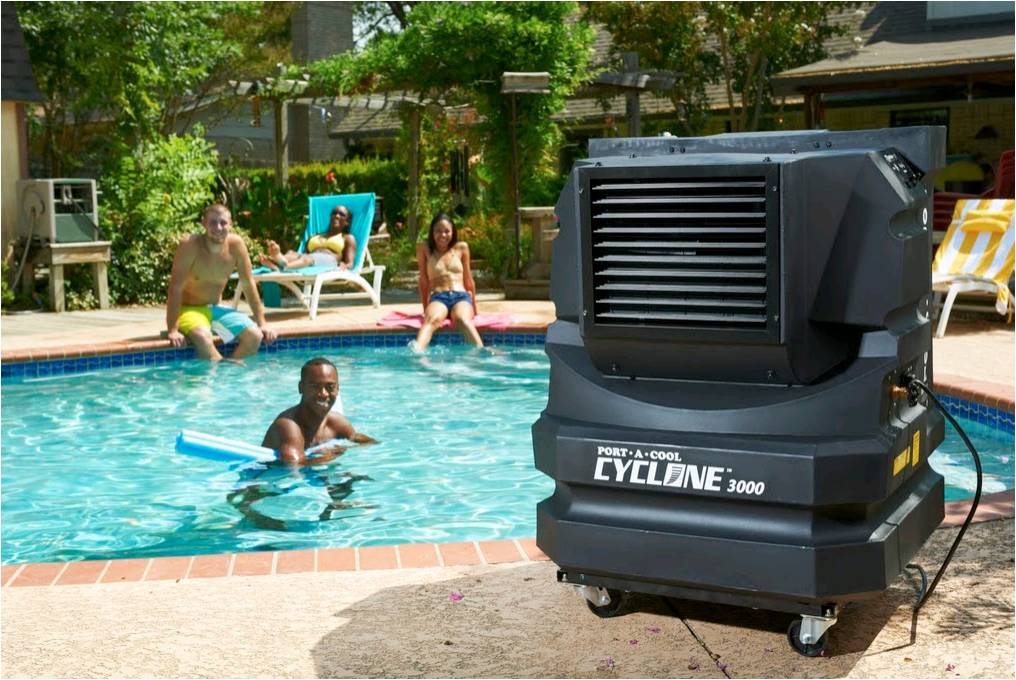Evaporative Cooler For Pool : Portool portable evaporative cooling december