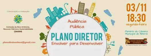 Audiência Pública Plano Diretor de Niterói
