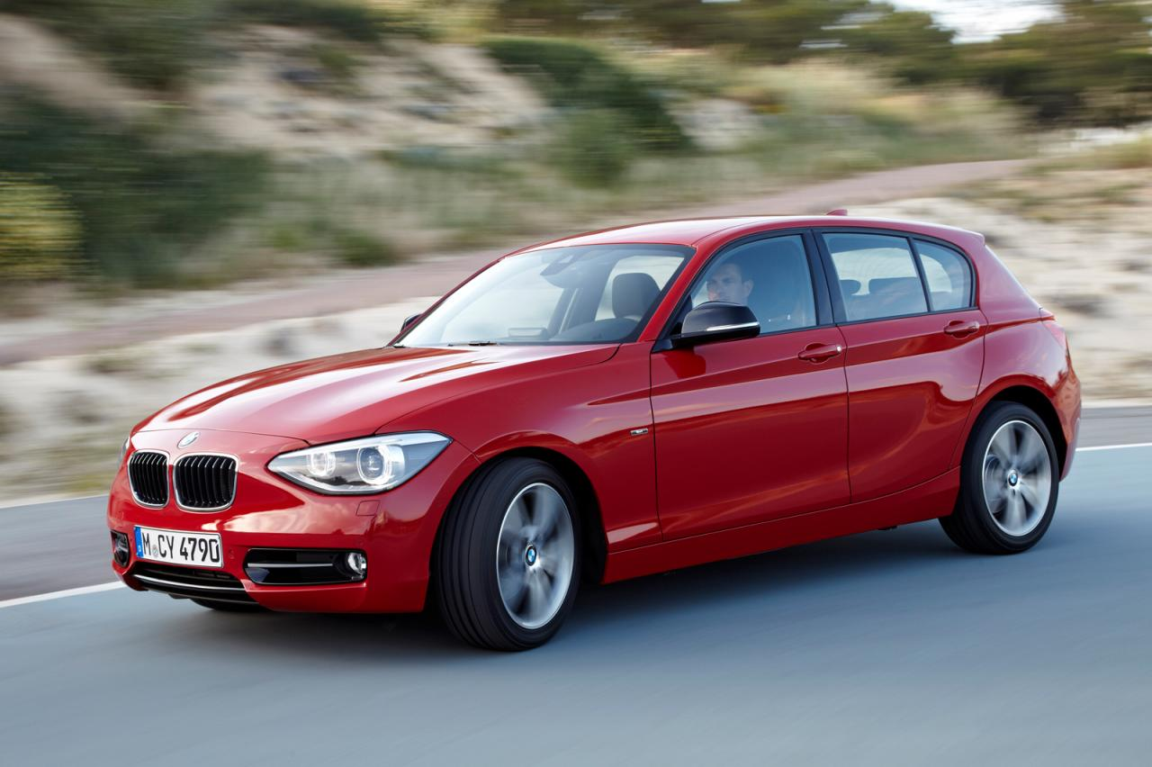 in4ride updated all new 2011 bmw 1 series hatch. Black Bedroom Furniture Sets. Home Design Ideas