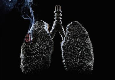 Lima Menit Perjalanan Asap Rokok dalam Tubuh Anda